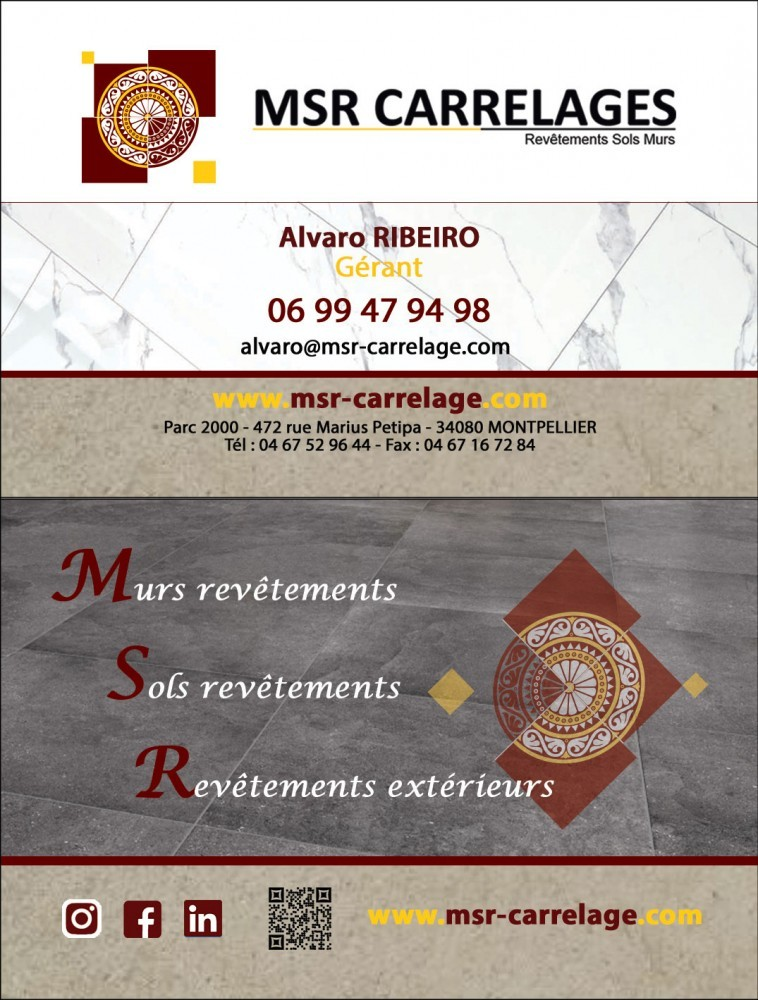 Photo MSR Carrelages