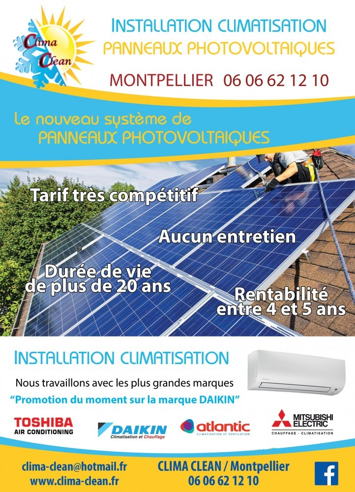 Photo Flyer A5 Clima Clean